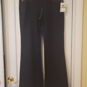 MICHAEL KORS FLARE LEG STRETCHY JEANS 14